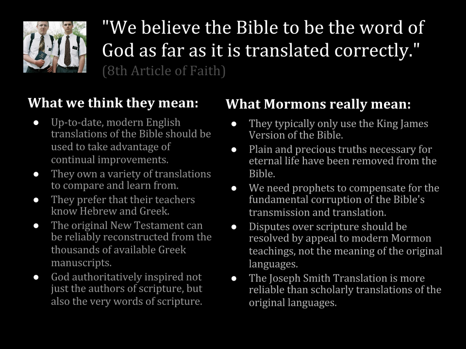 mormons key beliefs and teachings essay What's the difference between christianity and mormonism are mormons differs on their status of god and their beliefs the teachings of modern.
